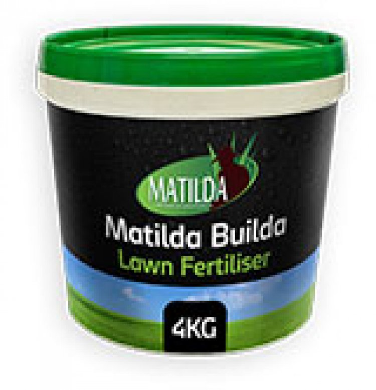 Matilda Builda - Lawn Fertiliser